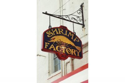Shrimp Factory-wood