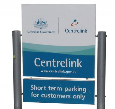 Centrelink_panel_and_post_sign-36