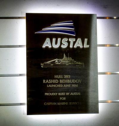 Austral Ships Plaque